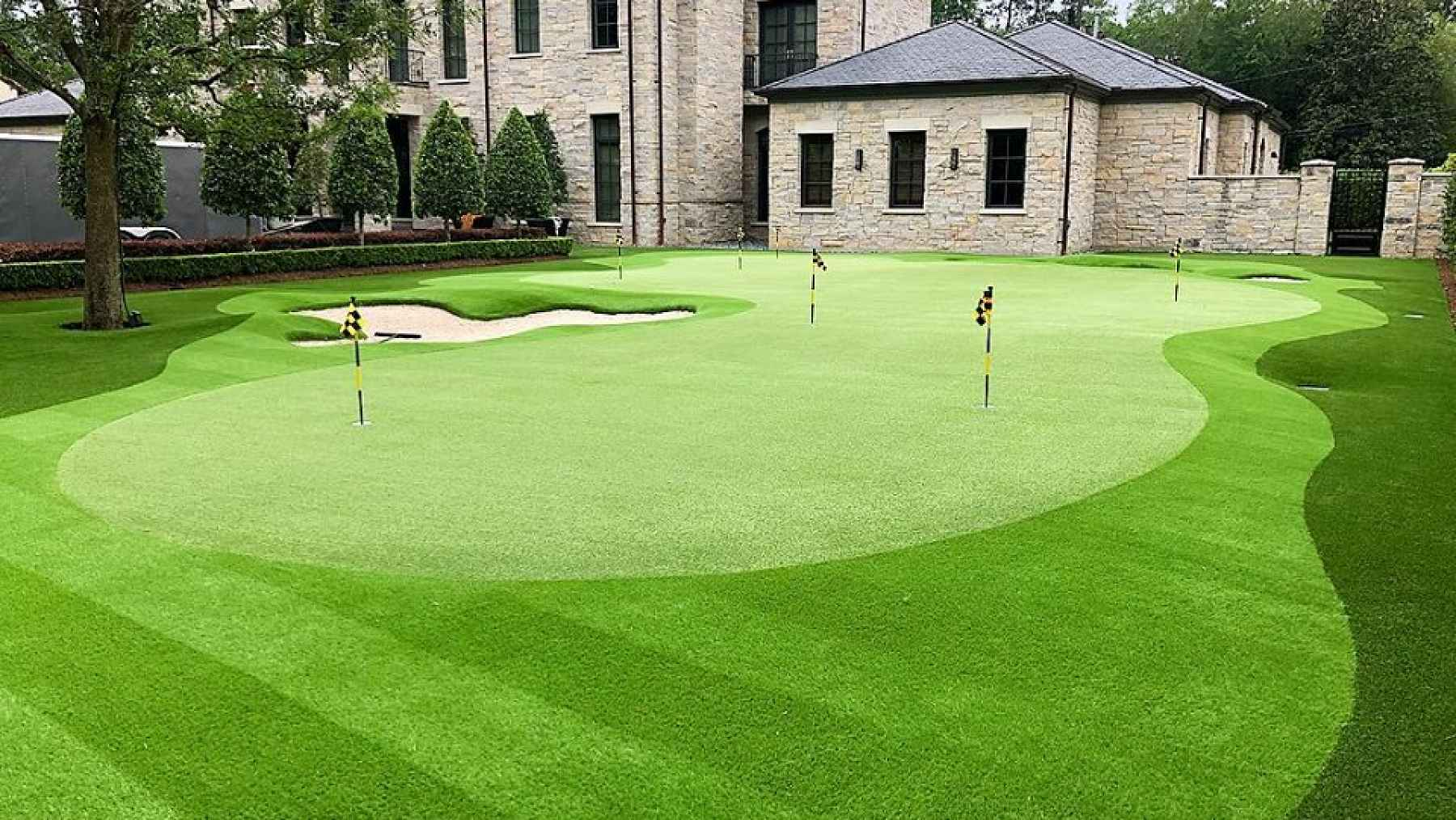 Professional Putting Green Bent Grass Golf Green