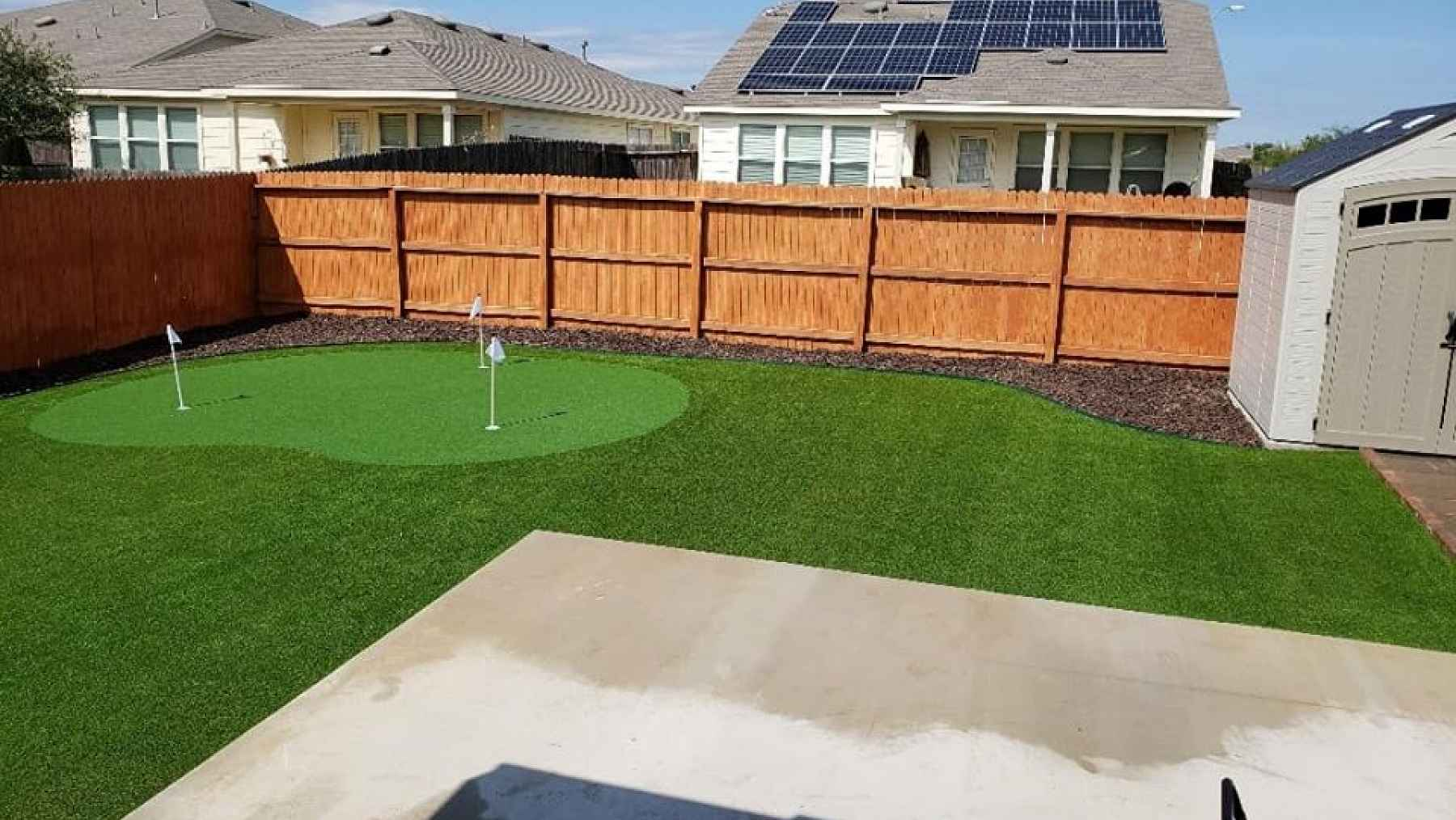 Frisco Synthetic Turf Lawn